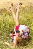 Mulher romântica — Foto Stock