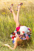 Signora romantica — Foto Stock