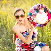 Fashion woman — Stock Photo