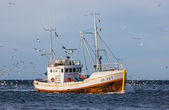 Commercial fishing boat — Stock Photo