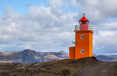 Yellow Lighthouse — Stock Photo