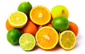 Mix of citrus  - Stock Image — 图库照片