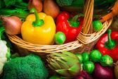 Mezcla de verduras - imagen stock — Foto de Stock