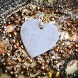 Heart Necklace - Stock Image — Stock Photo