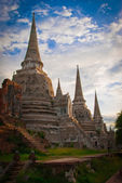 The Big Pagoda at Wat Phra Si San Phet — Foto de Stock