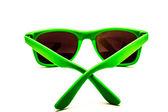 Green sunglasses — Stock Photo