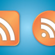 Stock Photo: RSS icons