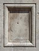 Stone panel — Stock Photo