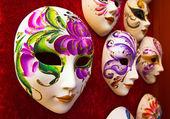 Handmade carnival masks — Foto Stock
