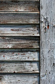 Cracked old window shutters — Stock Photo