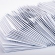 Stack of post letters — Stock Photo #42983863