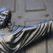 Statue of Jesus Christ extending his arm — Stock Photo #42802103