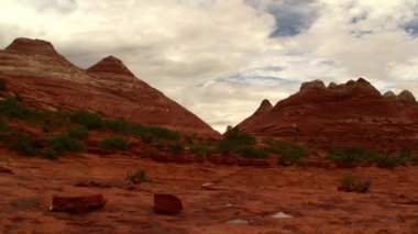 Wave in Vermilion Cliffs — Stock Video