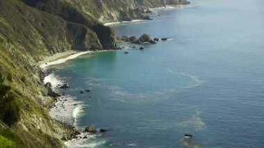 Big Sur Coastline — Stock Video
