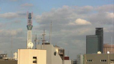Tokyo Cityscape — Stock Video