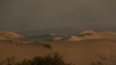 Death Valley Desert Sand Dunes — Stock Video
