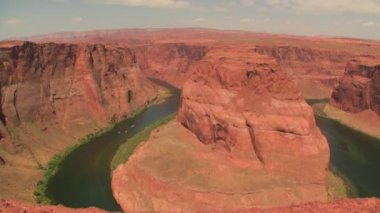 Horseshoe Bend — Stock Video