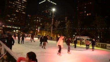 Ice Skating — Wideo stockowe