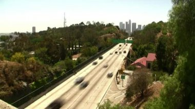 Downtown LA Traffic — Stock Video
