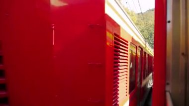 Train Window View — Stock Video