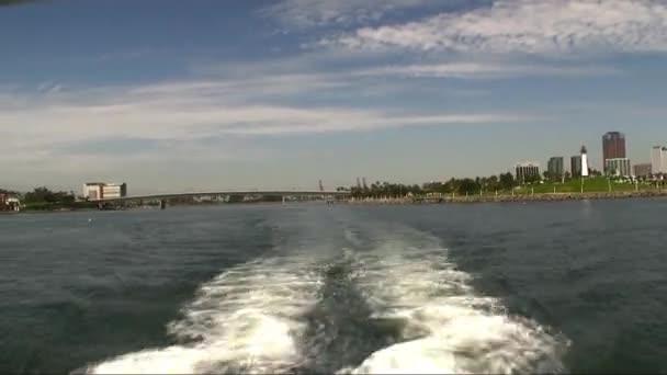 Salida del ferry — Vídeo de stock
