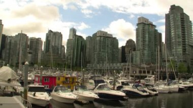 Vancouver Skyline — Video Stock