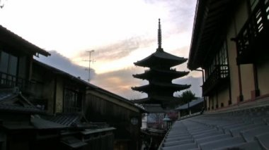 Historic Japanese Architectures — Stock Video