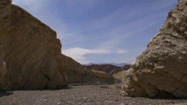 Death Valley Desert Canyon — Stock Video