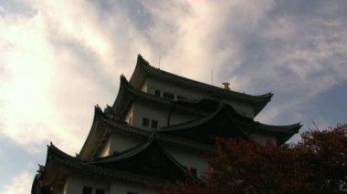 Zabytkowej architektury japońskiej — Wideo stockowe
