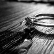 Her ring cries — Stock Photo #41144891