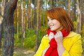 Portrait of a beautiful romantic girl — Stock Photo
