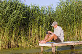 Summer fishing — Foto Stock