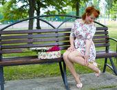Pin-up girl — Stock Photo