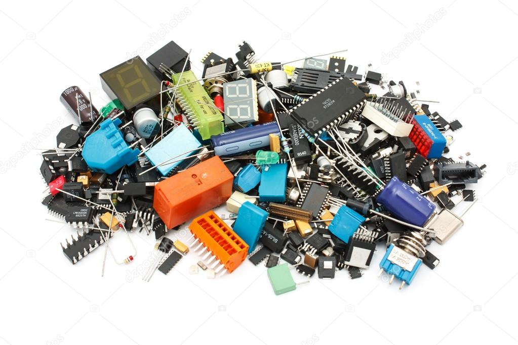 Electronic Components mix, for SMD and THT assembly ...