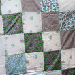 Stock Photo: Quilt display