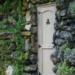 Foto Stock: Door in stone