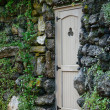 Stock Photo: Door in stone