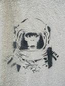 Chimp astronaut 1 — Stock Photo