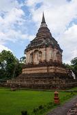 Una antigua pagoda en el templo — Foto de Stock