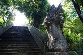 Naga statue stairs — Stock Photo