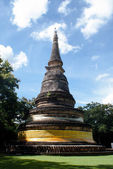 An old pagoda at temple — Stock Photo