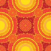 Sunny pattern seamless — Stock Photo