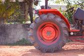 Tractor wheel — Stock Photo