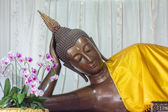 Sleeping Buddha Statue — Stock Photo
