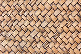 Old handcraft weave texture natural wicker — Stock Photo