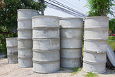 Concrete septic tank for sale in Thailand — Stock Photo