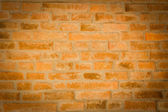Red brick wall texture background with vignetted corners to inte — Stock Photo
