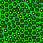 Wallpaper of flowers — Stock Vector