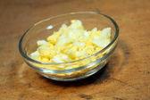 Chopped egg — Stock Photo