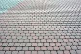 Tiled pavement — Stock Photo